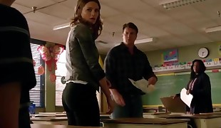 Stana Katic Bum In Tight Jeans