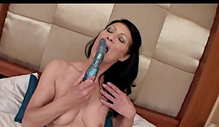 Mature Brunette And Her Sex Fucktoy