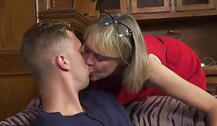 Torrid Southern Grandma gets her Youthfull Cock!