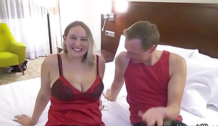 First-ever Time User-Date for German Inexperienced Teen BBW and Facial cumshot