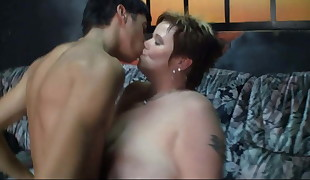 Guy fucks ample melons meaty mind-blowing woman