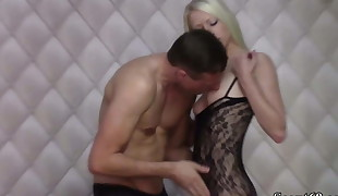 Extrem Skinny German Teen Lucy Tempt to Fuck and Facial cumshot