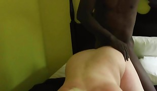 Getting drilled from behind