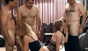 Sloppy Gangbang Creampies