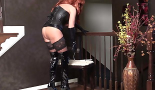 Mistress Wants You to Cum on Her Boots.