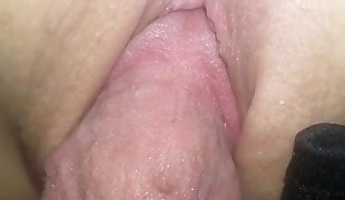Hot Wet Pussy and Asshole - Fucking hot friend cougar