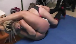 Female Fightclub Berlin Anna Konda vs Rocket