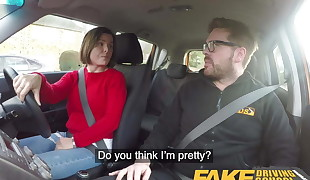 Faux Driving College Jealous learner wants hard fucking